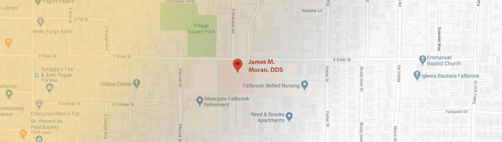 Contact - James M. Moran, DDS General & Cosmetic Dentistry